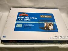 """24"""" Great Choice Small Fold & Carry Dog Crate"""