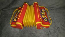 The Wiggles Musical Singing Play Vintage Pretend Toy Accordian