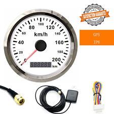 Digital GPS Speedometer Stainless Steel Waterproof Auto Car Gauge 200Km/H IP6 85