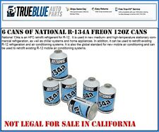 NATIONAL R-134A/R134a REFRIGERANT (SIX (6) 12 OZ CANS)