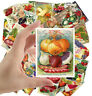 "Stickers pack [24 stkrs 2.5""x3.5""ea] Vintage Vegetable Seed Pockets Gardens 1016"