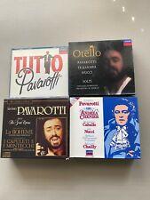 Luciano Pavarotti CD Box Sets Lot of 4 FREE Shipping