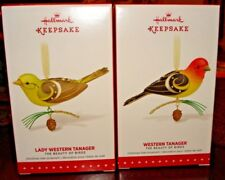Hallmark 2015 Limited Quantity Lady Western Tanager and Western Tanager