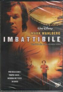 IMBATTIBILE Con Mark Wahlberg DVD NUOVO