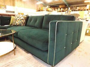 Clerkenwell - Bottle Green Corner Sofa RRP2599