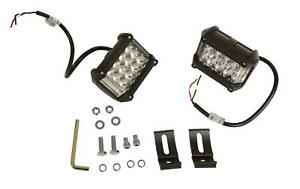 Auxiliary Lights LED Flood Off-Road Rectangle 36/14 watts White Clear Lens Black
