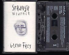 Glenn Frey Strange Weather (Long Hot Summer Big Life etc) Tape MC Kassette, 089