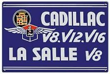 Vintage Antique Style Metal Sign Cadillac Service 18x30