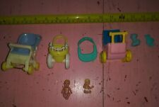 Lot of Loving Family and other toy dollhouse babies infant baby strollers toys
