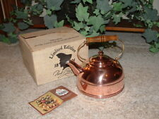 Vintage Revere Ware 2 Qt. Solid Copper Tea Kettle No. 2252-2 *Looks NEW*
