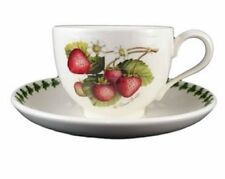 PORTMEIRION | POMONA STRAWBERRY CUP & SAUCER SET ✪NEW✪ RARE RETIRED ELSANTA USA