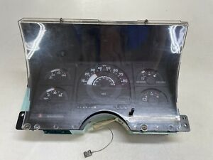 88-91 Chevy GMC Truck 1500 Instrument Cluster Speedometer 218k OEM 16131515