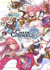 Chain Chronicle 2nd Season Illustrations vol.2 Art Book SEGA Game from Japan