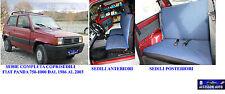 Coprisedili auto fodere copri sedili - Fiat Panda 750-1000 dal 1986 al 2003