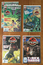 Topps Comics Jurassic Park The Lost World Set 1 2 3 4 +extra NM / Mint