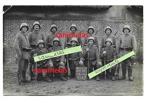 WK1 Foto Posen LIR.47 Sturmsoldaten Stahlhelm Niederschlesien Schlesien 7504