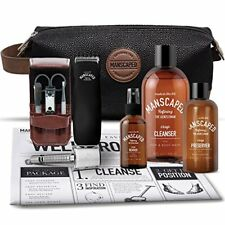 Manscaping Trimmer Kit Pubic Hair Shave Manscape Razor For Men Personal Grooming