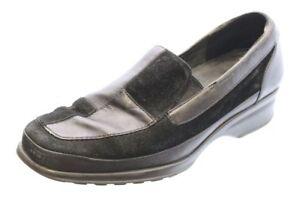 Verhulst Schuhe schwarz Leder Vario Wechselfußbett Weite H Gr. 38,5 (UK 5,5)
