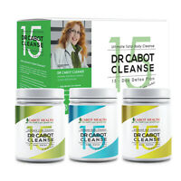 Cabot Health Dr Cabot Cleanse 15 Day Detox Pack Digestion & Detoxification