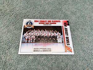 1994 Stanley Cup Playoff Finals Hockey Program New York Rangers v NJ Devils