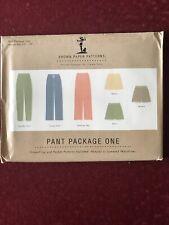 Brown Paper Sewing Pattern Pants