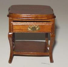 Vintage Sherton Lamp Table Walnut #6834 Dollhouse Furniture Miniatures