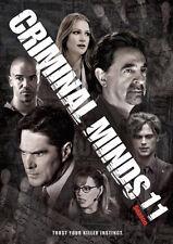 CRIMINAL MINDS: SEASON 11 DVD - THE COMPLETE ELEVENTH SEASON [6 DISCS] - NEW