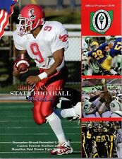 2001 OHIO HIGH SCHOOL FOOTBALL STATE CHAMPIONSHIP GAME PROGRAM       AWESOME
