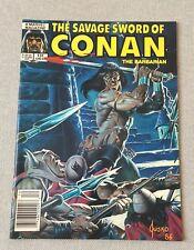 THE SAVAGE SWORD OF CONAN #131 MARVEL B&W MAGAZINE DECEMBER 1986