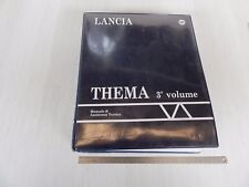 MANUALE ORIGINALE OFFICINA LANCIA THEMA 1992 LX TURBO 16v 3000 V6 ETC   NO 8.32