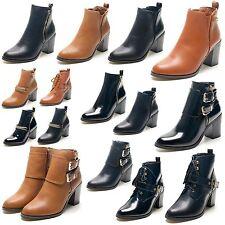 Zip High Heel (3-4.5 in.) Block Casual Shoes for Women