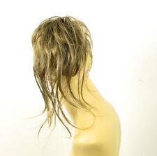 postiche chouchou peruk cheveux brun méché doré ref: 22 en 1bt24b