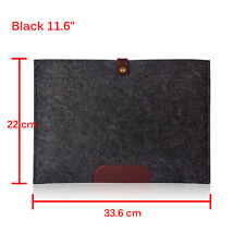 "Felt Laptop Sleeve Case Cover Bag for Apple Mac book Air Pro 11"" 13"" 15"" New"