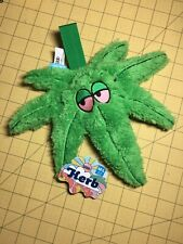 BARKBOX Bark Box Herb Marijuana Leaf Dog Toy 4/20 Collection - Medium / Large