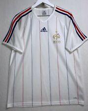 Adidas France FFF Soccer Jersey - Men's Medium - ClimaLite Polyester