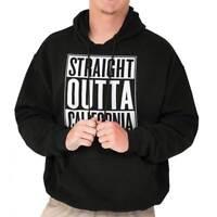 Straight Outta California Gift CA Vacation Hoodies Sweat Shirts Sweatshirts
