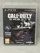 JEUX PS3 CALL OF DUTY GHOSTS SANS  NOTICE PLAYSTATION