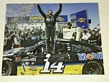 NASCAR SUPERSTAR TONY STEWART  AUTOGRAPHED 8X10 PHOTO W/ COA