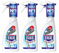 3 x Viakal Powerful Limescale Remover Spray 500ml Use in Bathrooms and Kitchens