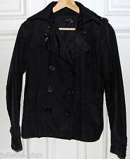 Zara Regenjacke Jacke schwarz Gr. M 36 38 Kurzjacke