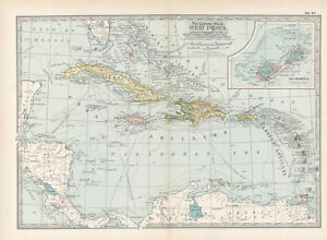 1897 WEST INDIES  by The Century Co,