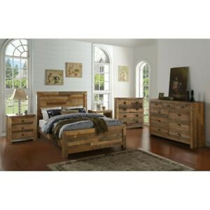 Abbey Solid Wood Platform Configurable Bedroom Set