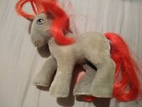 Vintage G1 My Little Pony So Soft Flocked Pretzel Twist 1980s