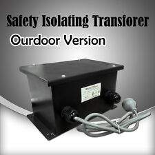 Outdoor weatherproof 12V AC low voltage Safety Isolating lighting transformer