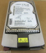 2 x HP-Compaq BD0096349A  9.1GB 10K RPM 80 Pin Hot Swap SCSI Ultra160 Drive
