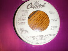 Steve Miller Band 45 Circle Of Love CAPITOL PROMO