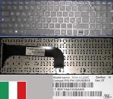 Clavier Qwerty Italien  HP Pavilion Envy M6 NSK-CL2UC PK130U92B15 9Z.N8MUC.20E