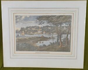 P1111 A Late 19th C Copy of An Engraving After George Brannon Bembridge I.O.W.
