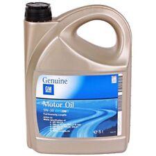 4 Garrafas Aceite 5l Opel 5w30 DexOS 2 5w30 gm-lla-025 gm-ll-b-025 acea c3 20L