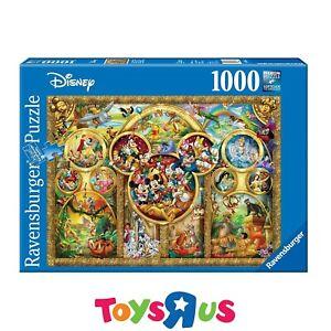 Ravensburger Disney Best Themes 1000pc Jigsaw Puzzle